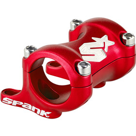 Spank Spike Stem DM 25/30, Ø31.8mm shotpeen red